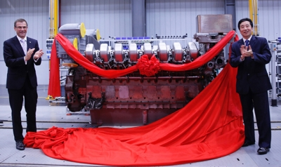 MTU starts producing its 4000 series engine in China