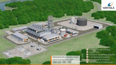 Wärtsilä launches hybrid plants & energy storage solution
