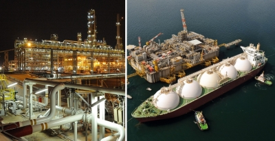 Qatargas II liquefaction plant at Ras Laffin Industrial City