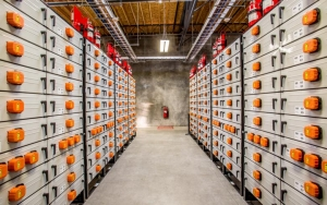 Example for battery energy storage units
